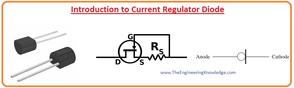 Current Regulator Diode, Current Regulator Diode Applications,Current Regulator Diode Advantages, Current Regulator Diode Features, Characteristic Curve of Current Regulator Diode, Introduction to Current Regulator Diode,