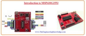 Introduction to MSP430G2553 MSP430G2553 working, MSP430G2553 pinpout MSP430G2553 features, MSP430G2553 application MSP430G2553 block diagram MSP430G2553