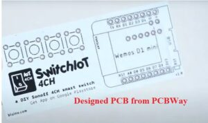 THEIA CONTACTLESS THERMOMETER DESIGNED PCB DETAILS TOP 2 IoT Project Created with PCB HOME AUTOMATION IoT PROJECT USING BLYNK AP