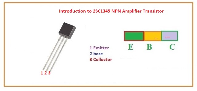 Introduction to 2SC1345 NPN Amplifier Transistor