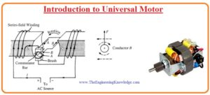 Applications Of Universal Motor Speed/Load Characteristics Working Of Universal Motor Construction Of Universal Motor Universal Motor - Construction, Working And Characteristics