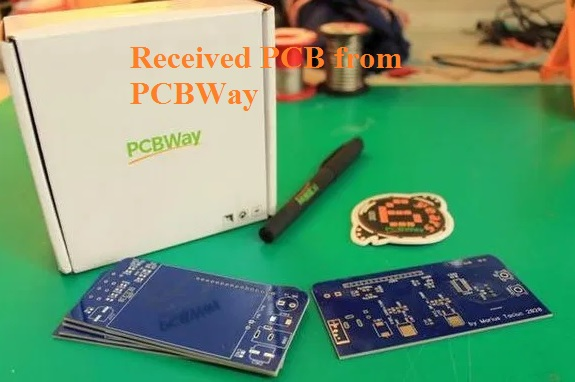 Received PCB from PCBWay