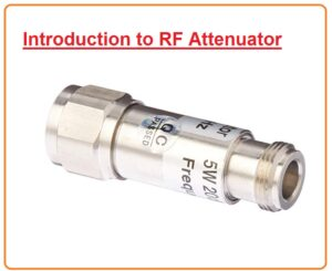 RF Attenuators: basics, types, symbols