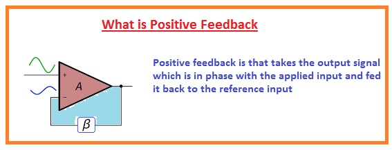 positive feedback Difference Between Positive and Negative Feedback