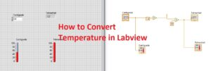 How to Convert Temperature in Labview