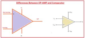 Differences Between OP-AMP and Comparator