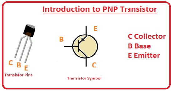 Applications Difference between PNP and NPN Transistors Output Characteristics Curve Circuit Diagram Construction Introduction to PNP Transistor